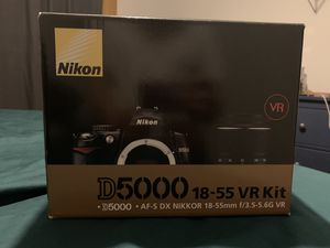 Nikon D5000 camera+accessories kit for Sale in San Marino, CA