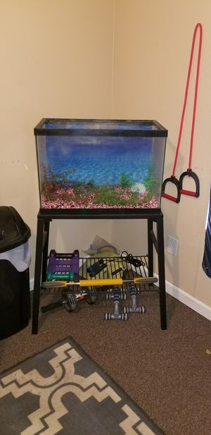 Tank and stand for Sale in Mount Vernon, IN