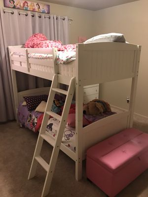 White bunk bed for Sale in Beaumont, TX
