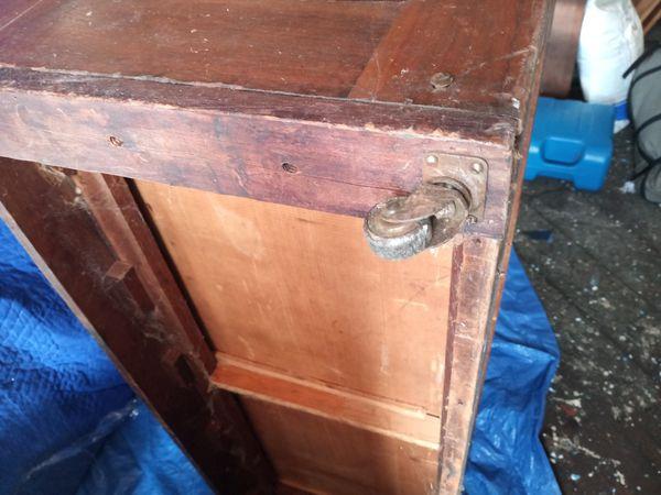 1800s Eastlake marble top dresser