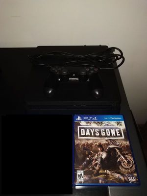 Sony PS4 Playstation 4 with Days Gone $388.80 retail (will trade for Nintendo Switch) for Sale in Fairview Park, OH