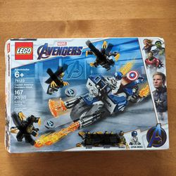 LEGO Marvel Avengers Captain America: Outrider Attack MISSING OUTRIDER FIGURES—Otherwise Complete—Read Description for Sale in Huntington Station,  NY