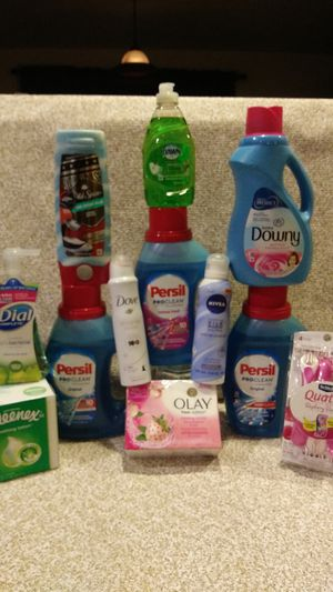 💙3 LAUNDRY DETERGENTS,Fabric Softener, Olay Outlast, Old Spice- Pure Sport, DOVE & MORE!👍 for Sale in Everett, WA
