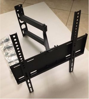 New in box 22 to 55 inches swivel full motion tv television wall mount bracket single arm for Sale in Whittier, CA