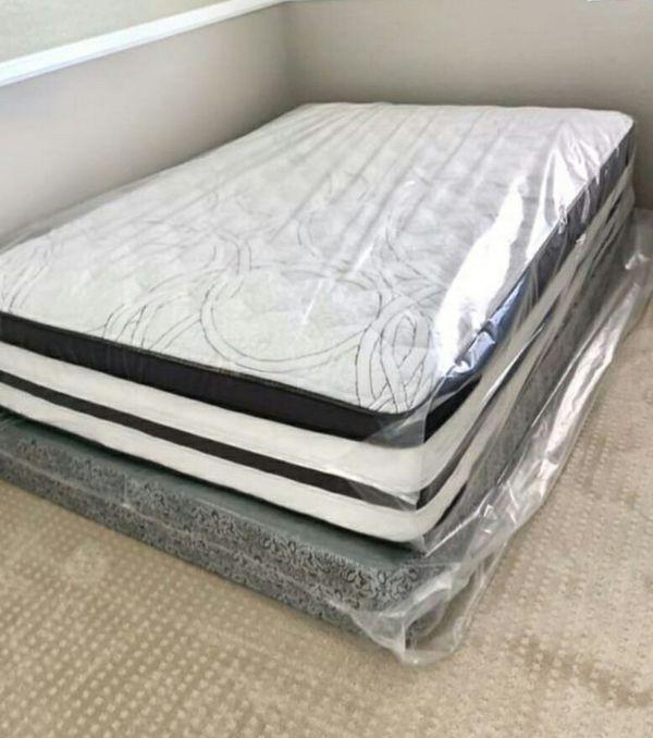 Queen Pillow Top Mattress for Sale in Phoenix, AZ - OfferUp