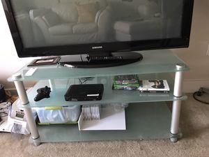 Glass Tv Stand for Sale in Atlanta, GA