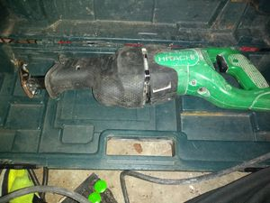Hitachi CR13V 10 Amp Reciprocating Saw for Sale in Fitchburg, MA