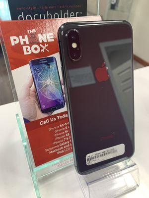 iPhone X 256gb UNLOCKED for Sale in Carrollton, TX