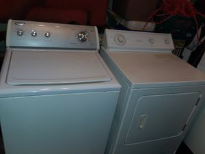 WHIRLPOOL Washer and Dryer Set!! Delivery Available!! Option of Free Assembly of Appliance Upon Arrival!!! 30-day Warranty Also Provided!! for Sale in Portsmouth, VA