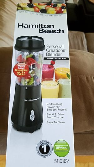 BRAND NEW - Hamilton Beach Personal Creations Blender, GREAT DEAL!!! for Sale in Portage, MI
