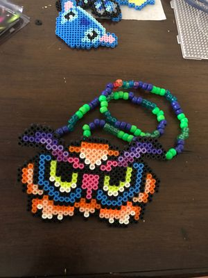 LED perler beads pacifiers Kandi bracelet for Sale in San Francisco, CA