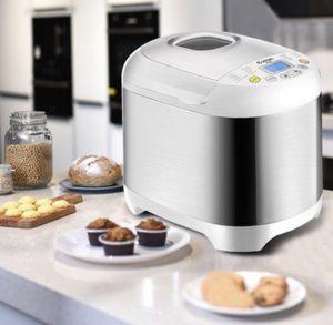 Stainless Steel 2LB 550W Electric Bread Maker Machine Programmable for Sale in San Bernardino, CA