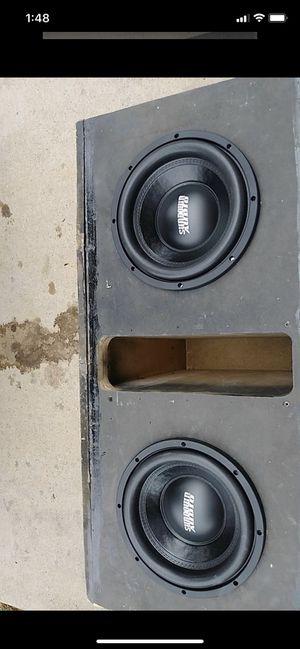 Sundown Audio D2 10's Custom Box for Sale in Fort Worth, TX