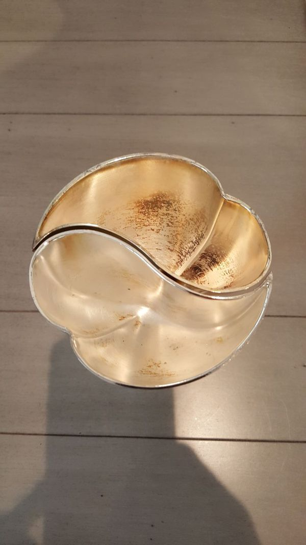 Engraveable heart shaped wedding toasting goblets