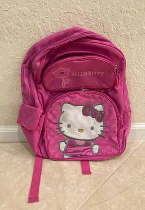 Hello Kitty Pink Backpack for Sale in Pompano Beach, FL
