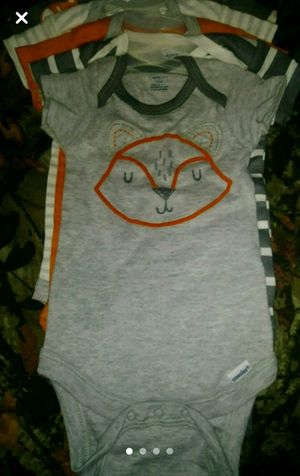 3/6 brand new 4 pack of onesies for Sale in Kingsport, TN