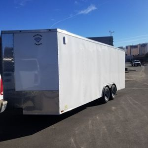 Cargo Trailer (Car Hauler Toy Hauler Camping Box Trailer) for Sale in Las Vegas, NV