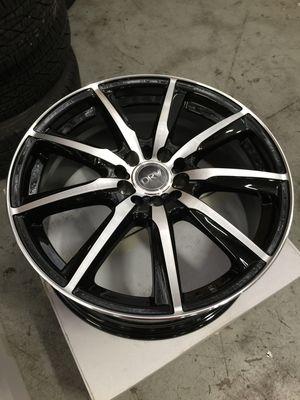 "Brand New 17"" Inch Diablo D18 Black Machined Face 17X7 Wheels Rims Rines 5X100 5X3.94 5X114.3 5X4.5 for Sale in Austin, TX"