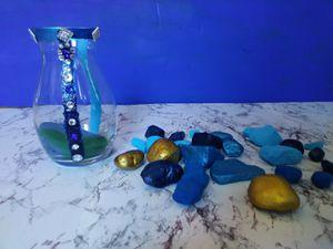 Love vase $5. Painted rocks $5 for Sale in Cincinnati, OH
