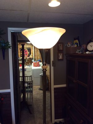 TALL GOLD FLOOR LAMP CAN BE YOURS FOR $20.00 for Sale in Middle River, MD