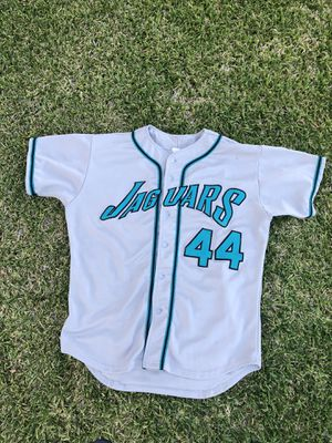 Vintage baseball jersey grey and teal for Sale in Norwalk, CA