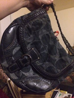 Coach denim collection hobo shoulder bag for Sale in St. Louis, MO
