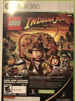 Xbox 360 Indiana Jones & Kung Fu Panda double disc for Sale in Puyallup,  WA