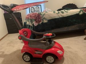 3 in 1 push play car for Sale in Yelm, WA