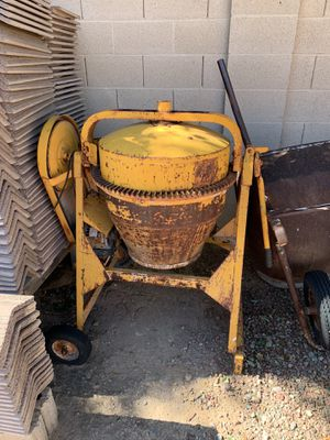 Cement mixer for Sale in Peoria, AZ