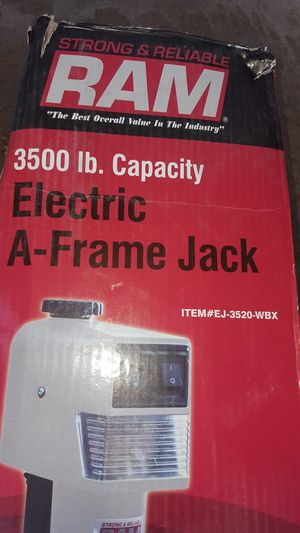 Electric jack trailer camper for Sale in Garland, TX