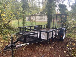 2018 Utility Trailer 5.5ftX10ft $1800 FIRM for Sale in Kent, WA