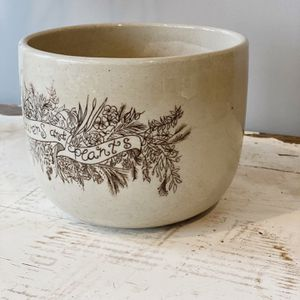 Ceramic Flower Pot/Bowl for Sale in Paw Paw, MI
