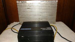 VINTAGE Jenson A220 amp and VINTAGE Targa Hexfet 2ch 500 amp for Sale in Fort Wayne, IN