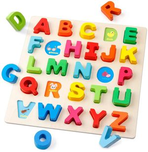 Learn and play /toys/ wooden Rainbow Letters Alphabet for kids for Sale in Rowland Heights, CA