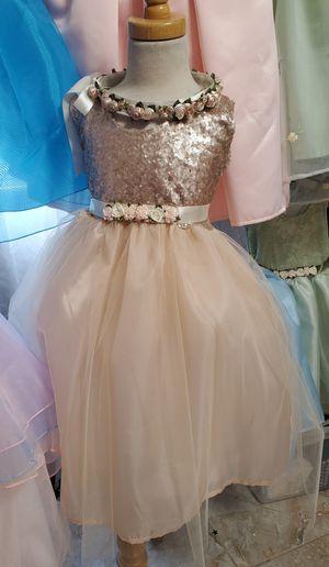 Girl Dress/ Event Dress/ Flower Girl Dress/ 2 x$25 for Sale in Ontario, CA