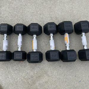 CAP Dumbbell Bundle - 10, 15, 20lb Sets - Brand New for Sale in Pennsauken Township, NJ