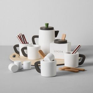 19 piece Hearth and Hand with Magnolia Hot Cocoa Wood Set * Christmas * NEW for Sale in San Gabriel, CA