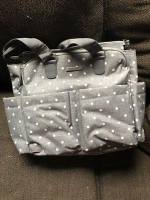 Pink/grey diaper bag for Sale in Nashville, TN