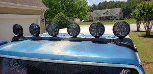 KC lights and bar for Sale in Tyrone, GA