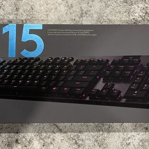 Gaming Keyboard Logitech Clicky G915 WIRELESS - Perfect condition! - SouthEast Austin 78744 for Sale in Austin, TX