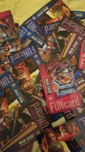 MAIN EVENT GAME CARDS for Sale in Atlanta, GA