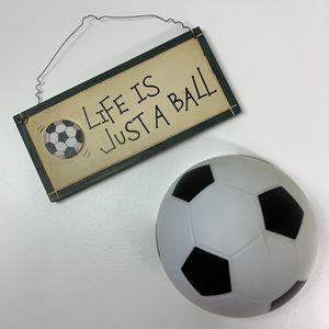Soccer room decor for Sale in Mechanicsburg, PA