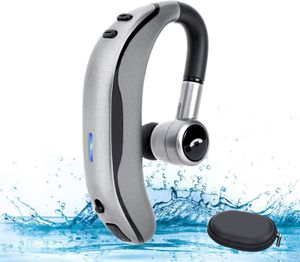 Bluetooth 5.0 Headset Hands-free Wireless Earpiece with Mic for iPhone Android for Sale in West Covina, CA