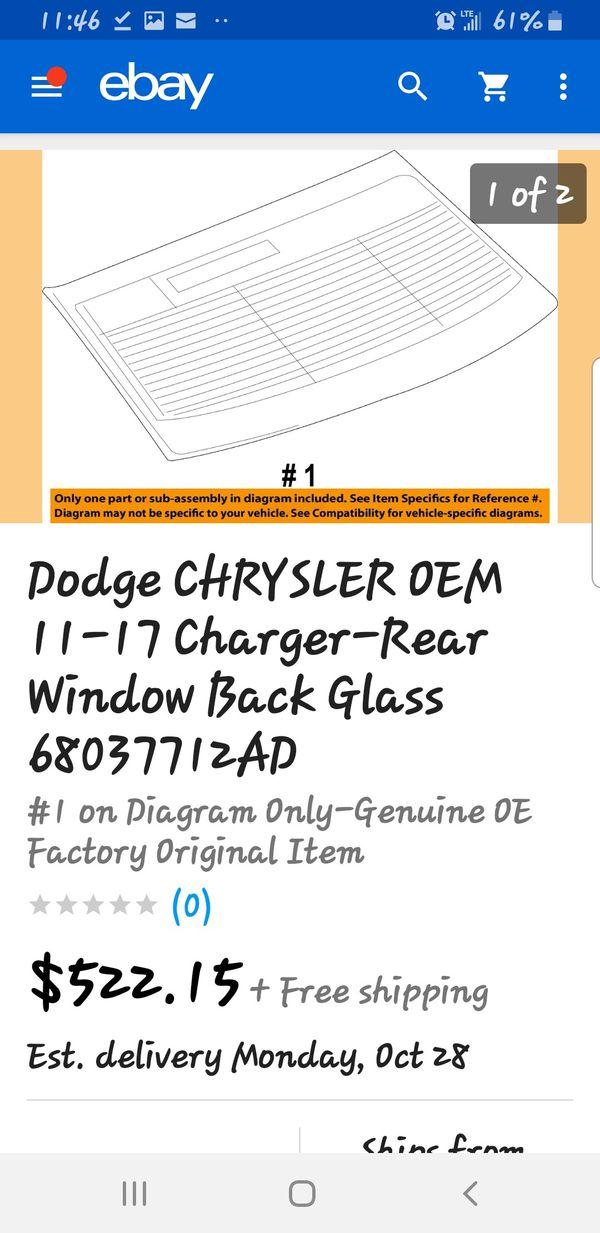 Mopar windshield