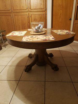 "Antique 54"" Quartersawn Oak DiningTable for Sale in Fontana, CA"