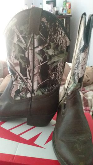 Camo boots for Sale in Chatsworth, GA