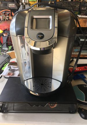 Keurig with k cup storage rack for Sale in Riverside, CA