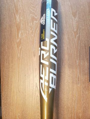 2019 Adidas AeroBurner (ABA -3) Baseball Bat Alloy BBCOR Metallic Gold /Black NEW for Sale in Alafaya, FL