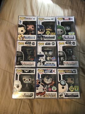 Funko Pop Grail Collection for Trade for Sale in Downey, CA