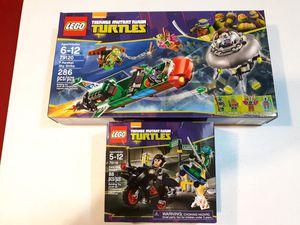 LEGO Teenage Mutant Ninja Turtles for Sale in Broadview Heights, OH